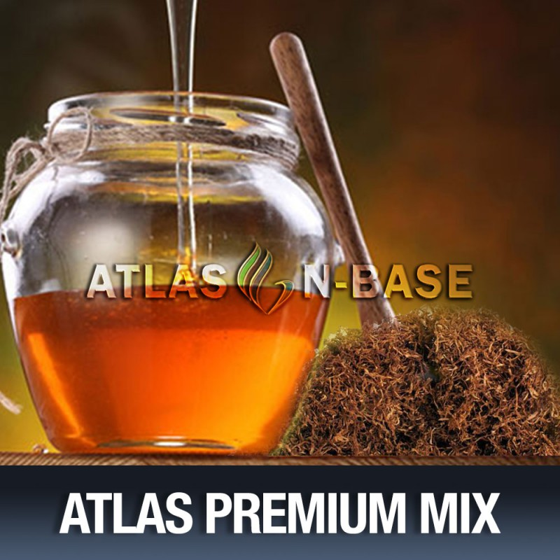 Atlas-Atlas Mix Black Honey Tobacco - 10ml Mix Aroma
