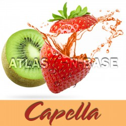 Capella Kiwi Strawberry With Stevia - 10 ml Dolum Aroma