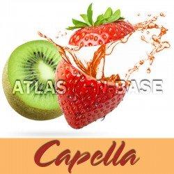 Capella Kiwi Strawberry With Stevia - 10 ml Dolum Aroma
