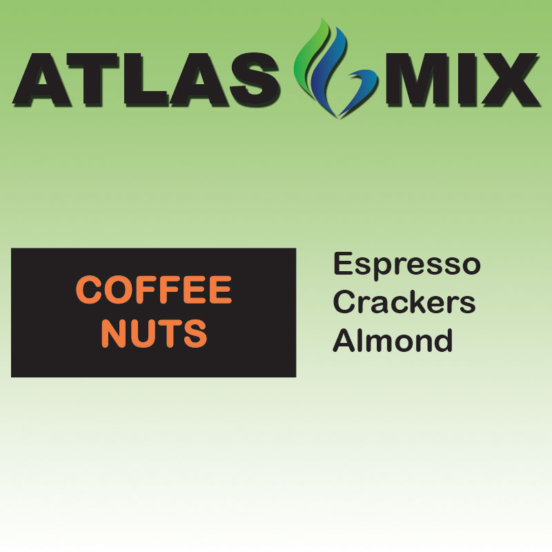 Atlas-Atlas Mix Coffee Nuts - 10ml Mix Aroma