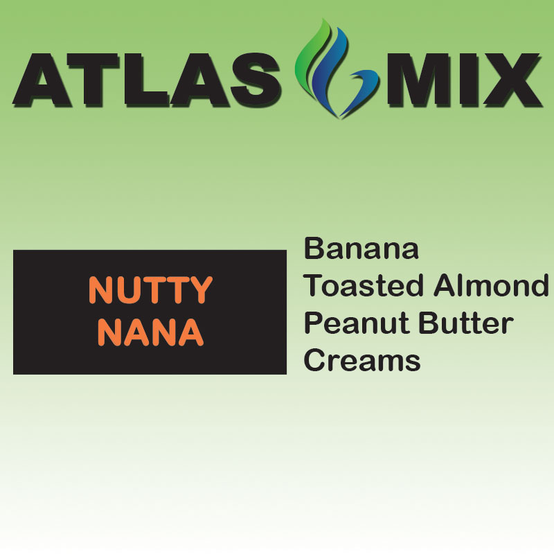 Atlas-Atlas Mix Nutty Nana - 10ml Mix Aroma