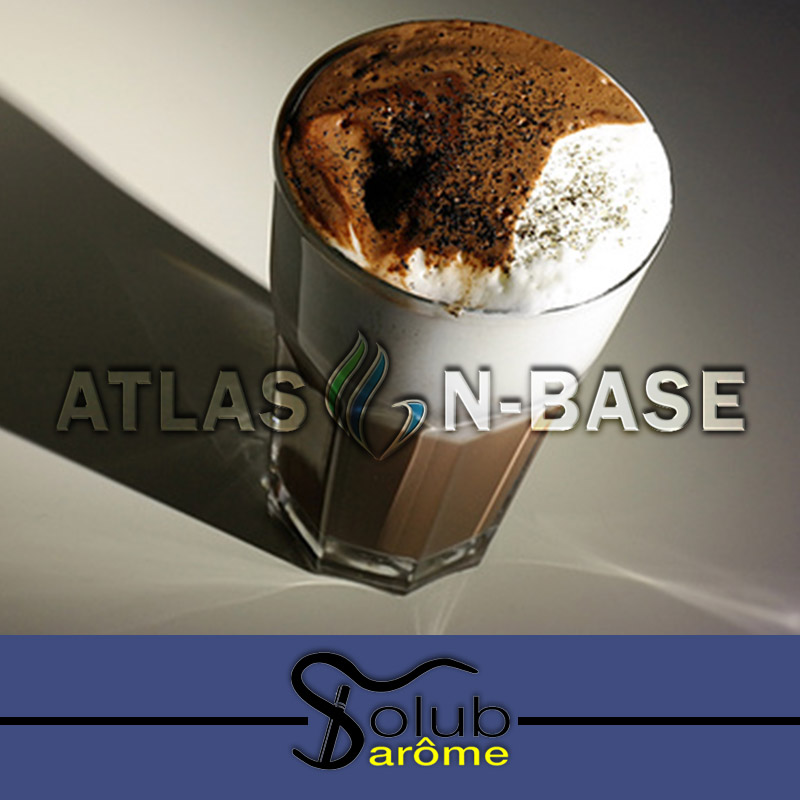 Solub Arome-Solub Arome Cafe Vanille Cacao - 10ml Dolum Aroma