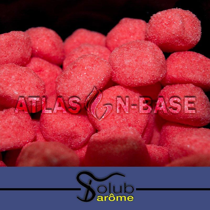 Solub Arome-Solub Arome Fraise Bonbon - 10ml Dolum Aroma