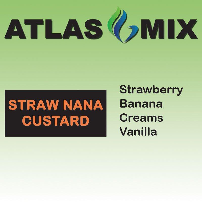 Atlas-Atlas Mix Straw Nana Custard - 10ml Mix Aroma