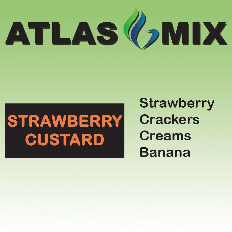 Atlas-Atlas Mix Strawberry Custard - 10ml Mix Aroma