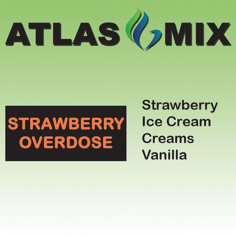 Atlas-Atlas Mix Strawberry Overdose - 10ml Mix Aroma