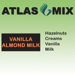 Atlas Mix Vanilla Almond Milk - 10ml Mix Aroma